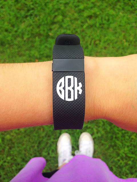 Monogrammed Fitbit Charge HR | Live The Prep Life