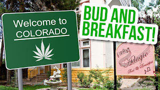 Hotel Bud & Breakfast  en Colorado, Estados Unidos, cannabis y marihuana