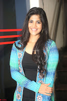 Megha Akash in a beautiful Anarkali dress with Long Jacket at LIE success meet ~  Exclusive Celebrities Galleries 034.JPG