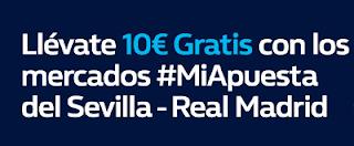 william hill promocion Sevilla vs Real Madrid 9 mayo