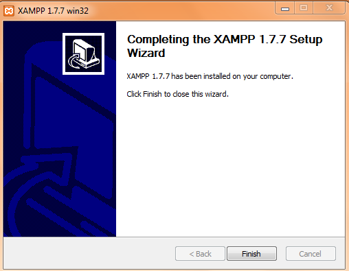 how to start xampp server