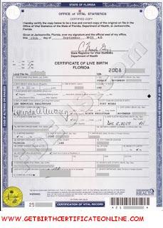 Get Vital Record Birth Certificate Virtual Birth