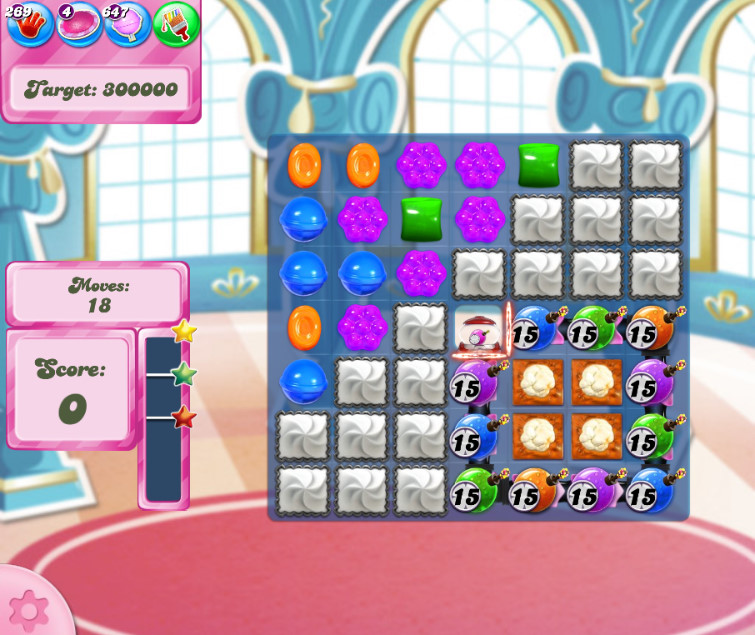 Candy Crush Saga level 2653