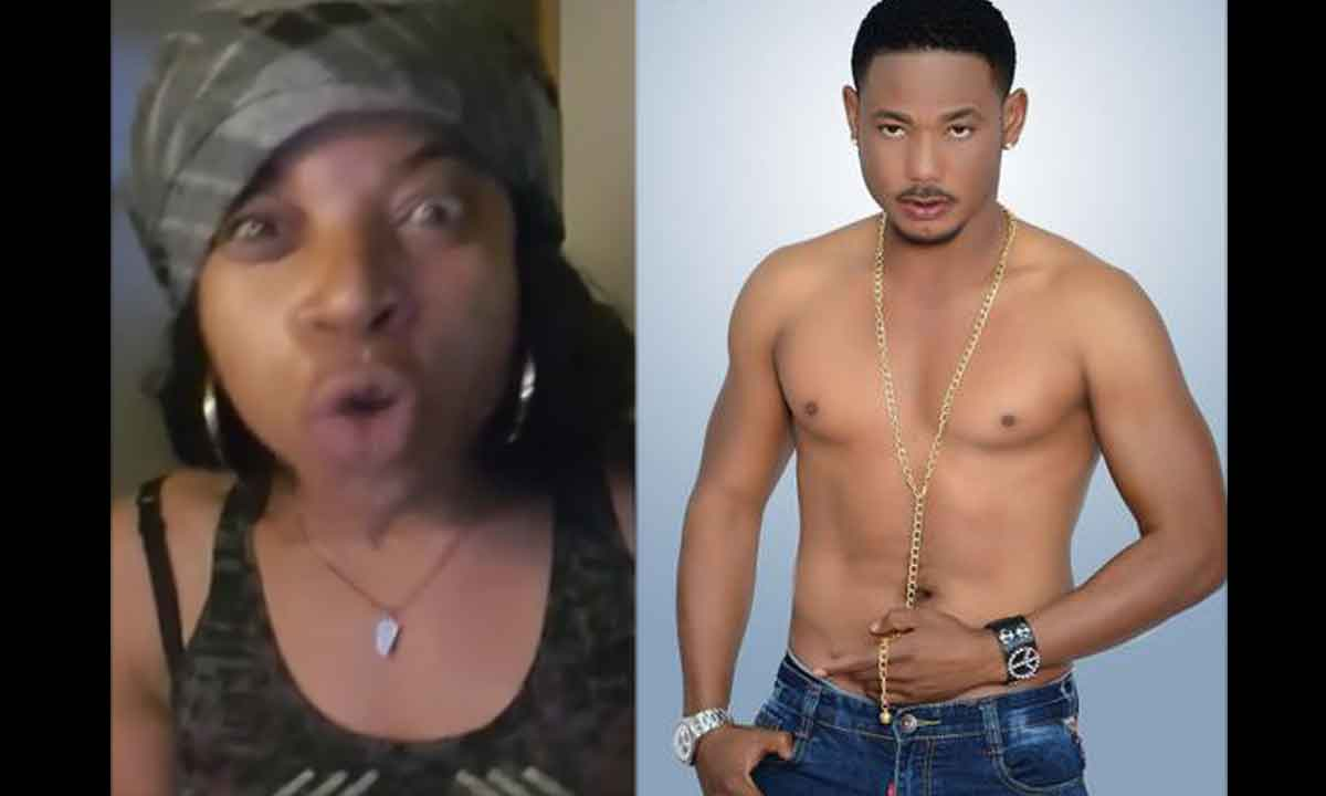 This lady on Facebook who goes by the name Charity Janssen, released a video on her Facebook wall claiming that Nollywood actor, Frank Artus, is owing her money and has refused to pay her back. She cursed him and asked people to appeal to him to refund her money otherwise she will go to her village to work on him.