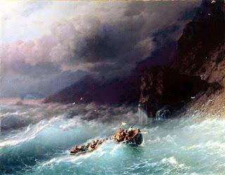 Буря на Черном море