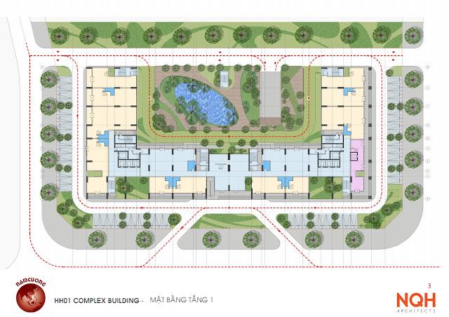 Quy hoạch dự án chung cư Anland Nam Cường