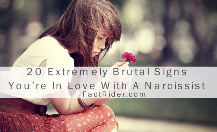 20 signs of a narcissist