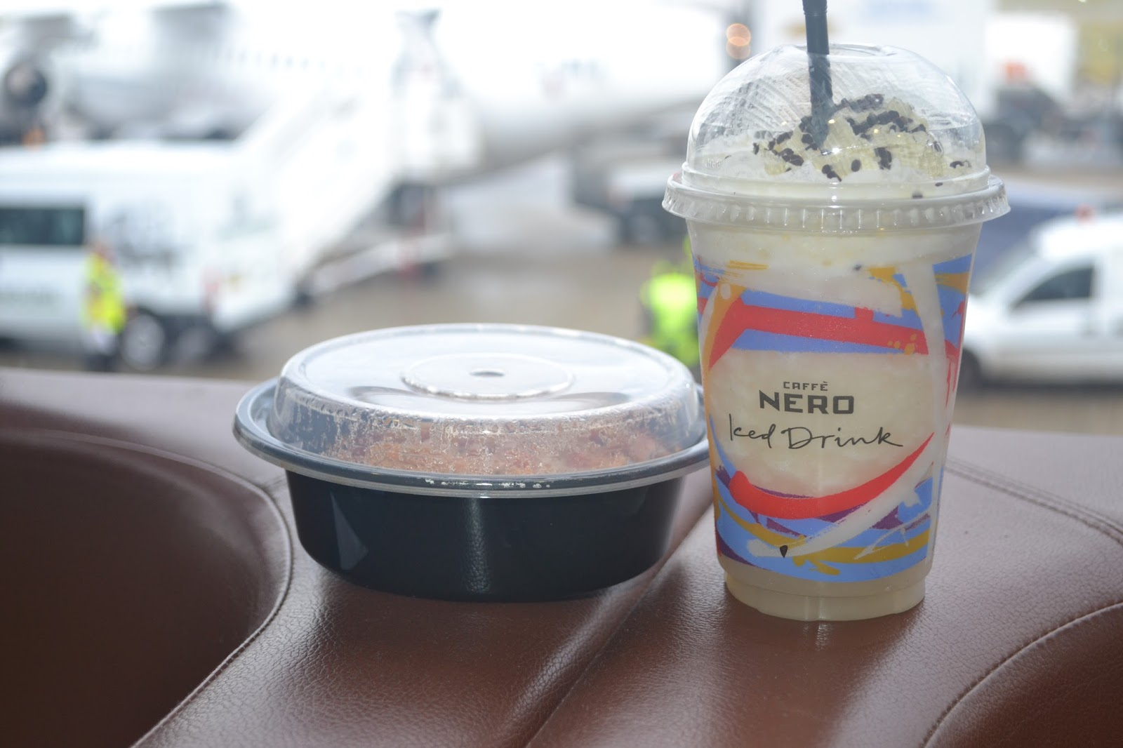 Caffe Nero Frappe & Food at Airport
