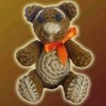 patron gratis oso amigurumi