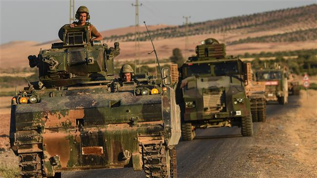 Ankara sends reinforcements for Turkey-backed militants in Syria