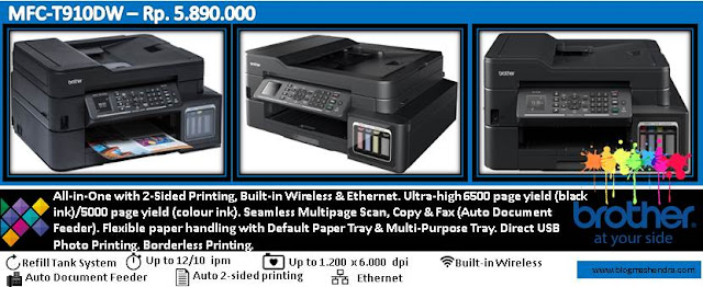 Printer Brother Tipe MFC-T910DW - Blog Mas Hendra