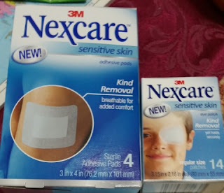 nexcare sensitive skin first aid bandages