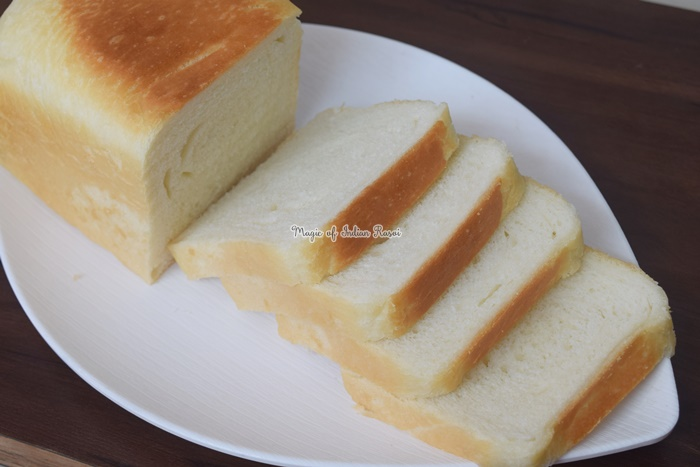 Homemade White Bread (Soft and Spongy) Recipe - Priya R - Magic of Indian Rasoi