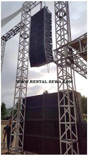 Sewa sound system riging