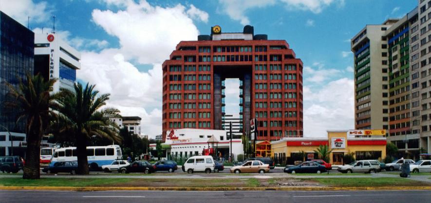 Arquitectura moderna en ecuador fausto banderas vela Obras puerta del sol