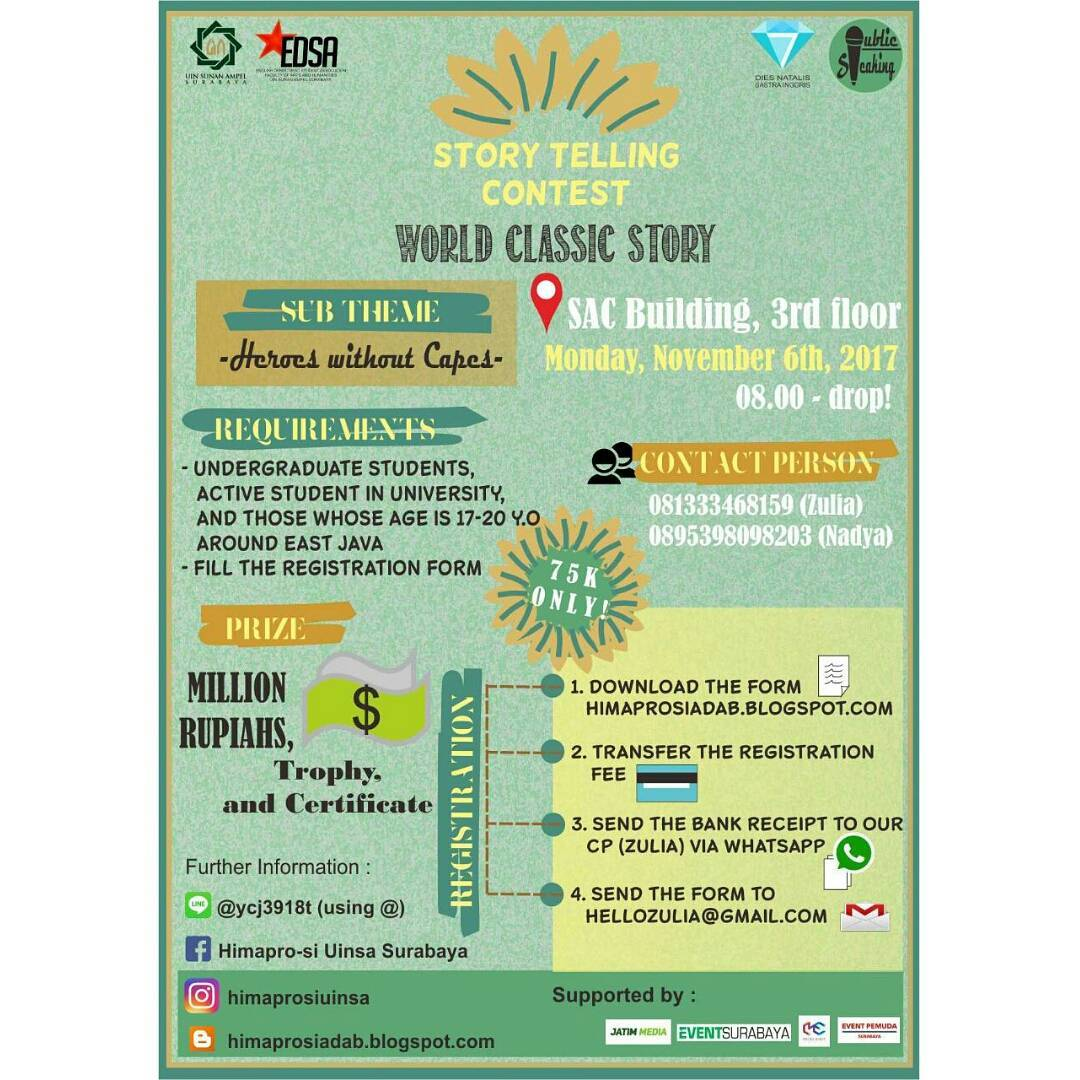 Lomba Story Telling Contest 2017