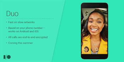 Google Juga Kenalkan, Duo Aplikasi Video Call Dengan Banyak Perbedaan