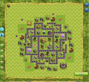 Formasi Base Clash Of Clans Town Hall 7 Terkuat
