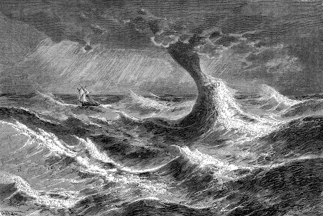 Camille Flammarion waterspouts illustration