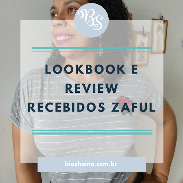 Lookbook e Review Recebidos Zaful