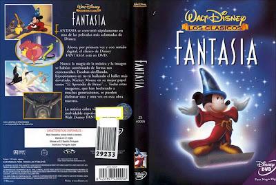 Fantasía (1940) | Caratula | Disney | Imágenes | Conecta2 Cine clásico dcc
