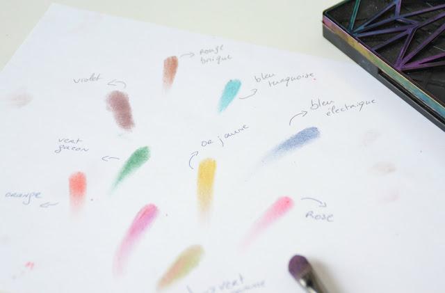 #Mapaletteidéale: 10 fards colorés à avoir
