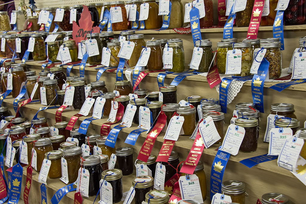 Jams, Jellies, and Preserves at the PA Maple Festival