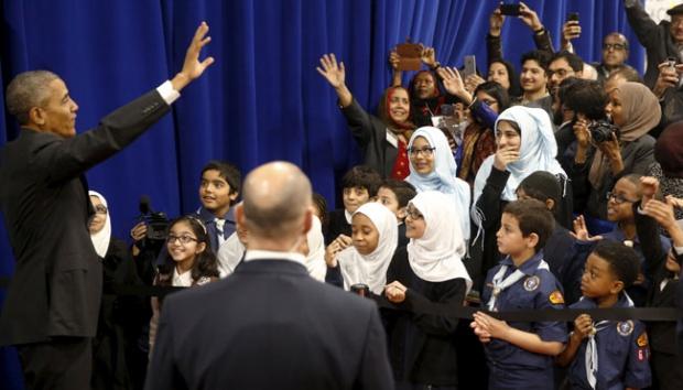 Ucapkan Selamat Idul Fitri Untuk Umat Muslim, Obama Janji Lindungi Muslim AS