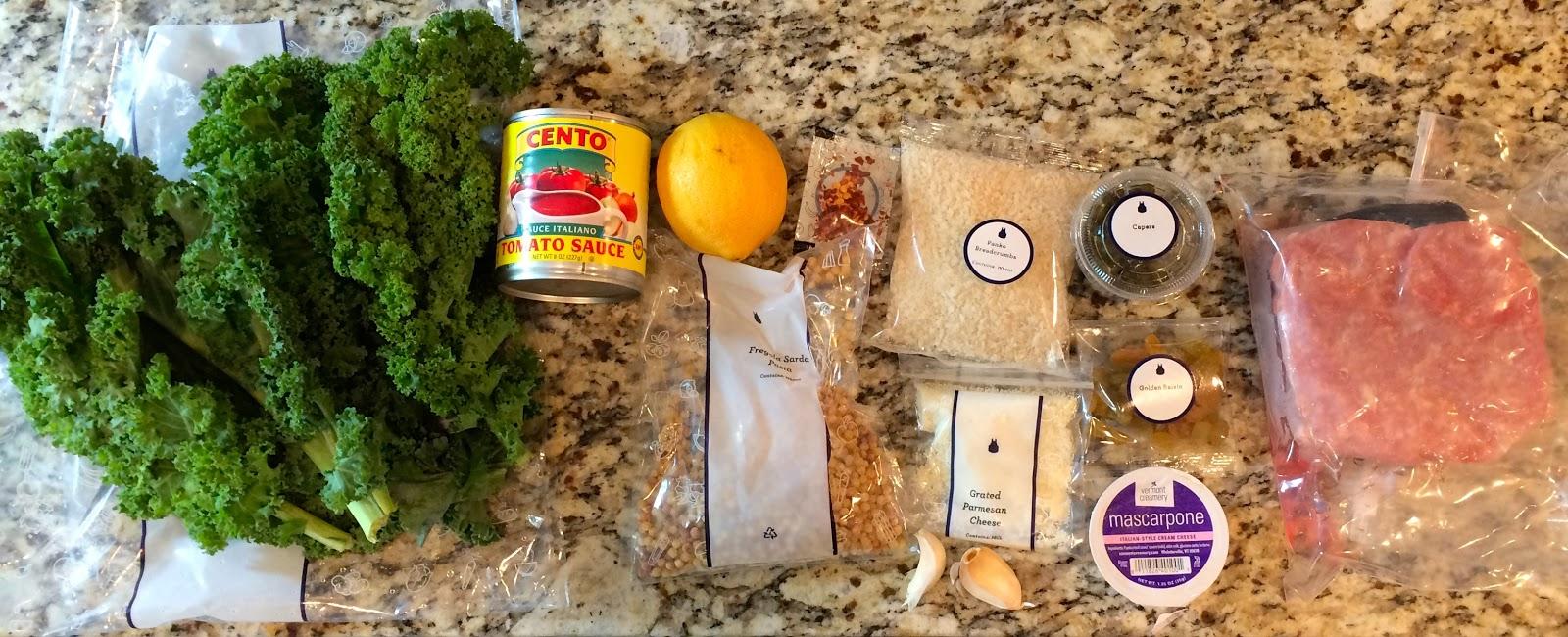 Blue apron katsu catfish - Chicken Meatballs Fregola Sarda With Kale Sicilian Tomato Sauce