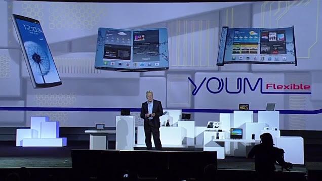 Samsung YOUM Release Date and Specs of Flexible Display Phones