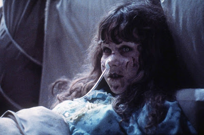 The Exorcist 1973 horror movie Linda Blair