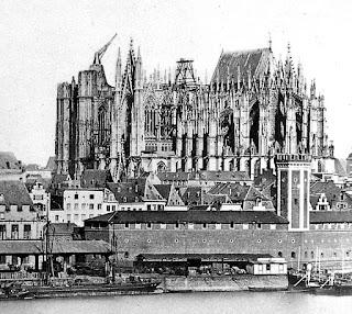 Construcción de la Catedral de Colonia (1856)