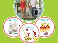 Logo Con Disney vinci set bagnetto, biciclette,peluche Winnie The Pooh e un viaggio per la famiglia