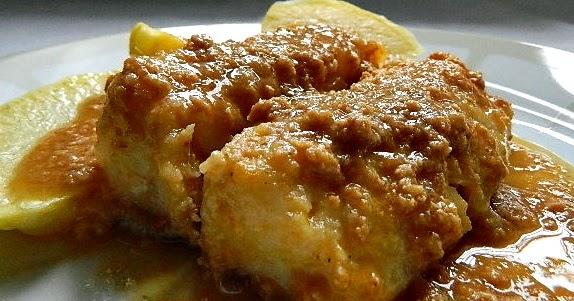 Las recetas de mi abuela bacalao con salsa de oricios - Cocinar bacalao congelado ...