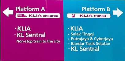 how to get from kl airport to city centre