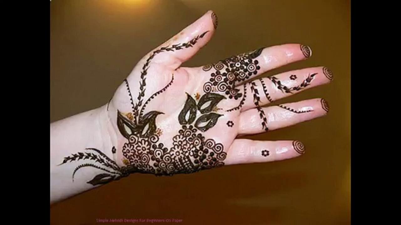Simple Mehndi For Right Hand : A big collection of arabic mehendi designs ~ wedding bels bridal
