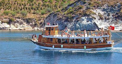 caicco costa egea turchia