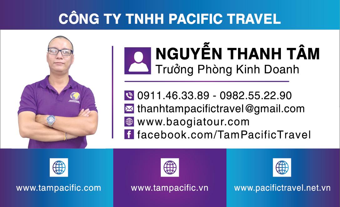 Công Ty Pacific Travel chuyên đặt tour nước ngoài