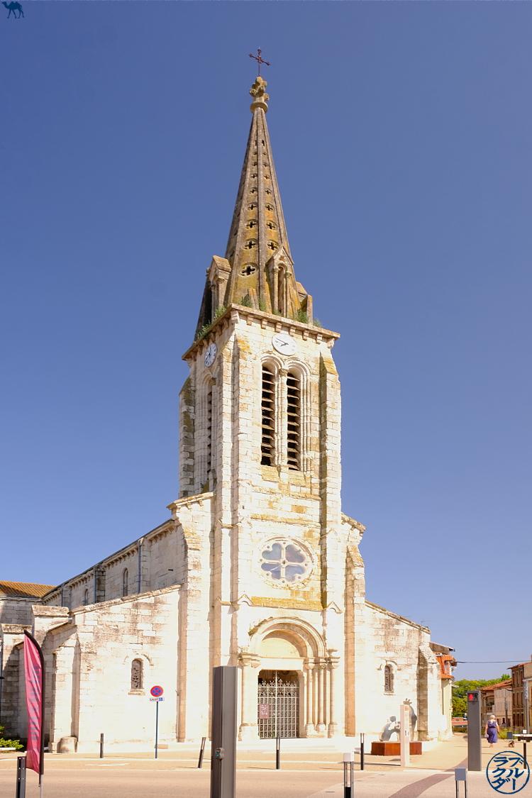 Le Chameau Bleu - Blog Voyage à Vélo sur le Canal des deux Mers -  Eglise de Moissac Tarn Et Garonne
