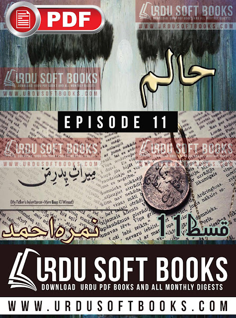 Haalim Novel Episode 11 by Nimra Ahmed