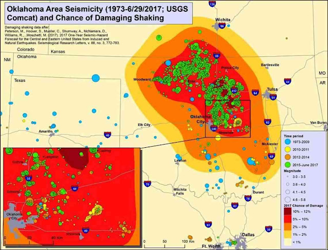 Oklahoma's Earthquakes Strongly Linked to Wastewater Injection Depth