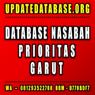 Jual Database Nasabah Garut