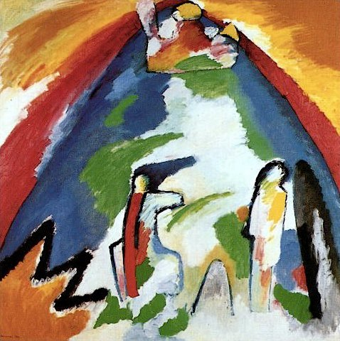 Wassily Kandinsky colors