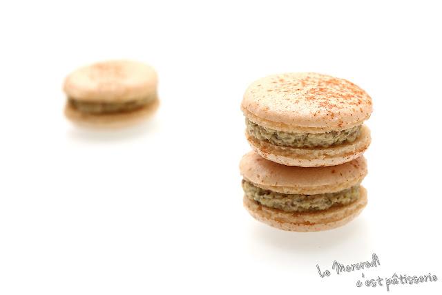 Macarons à la tartinade de courgette