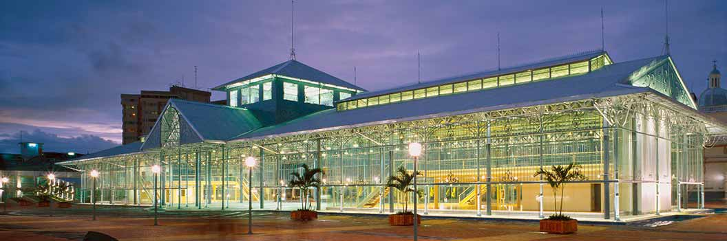 Guayaquil Travel - Palacio de Cristal