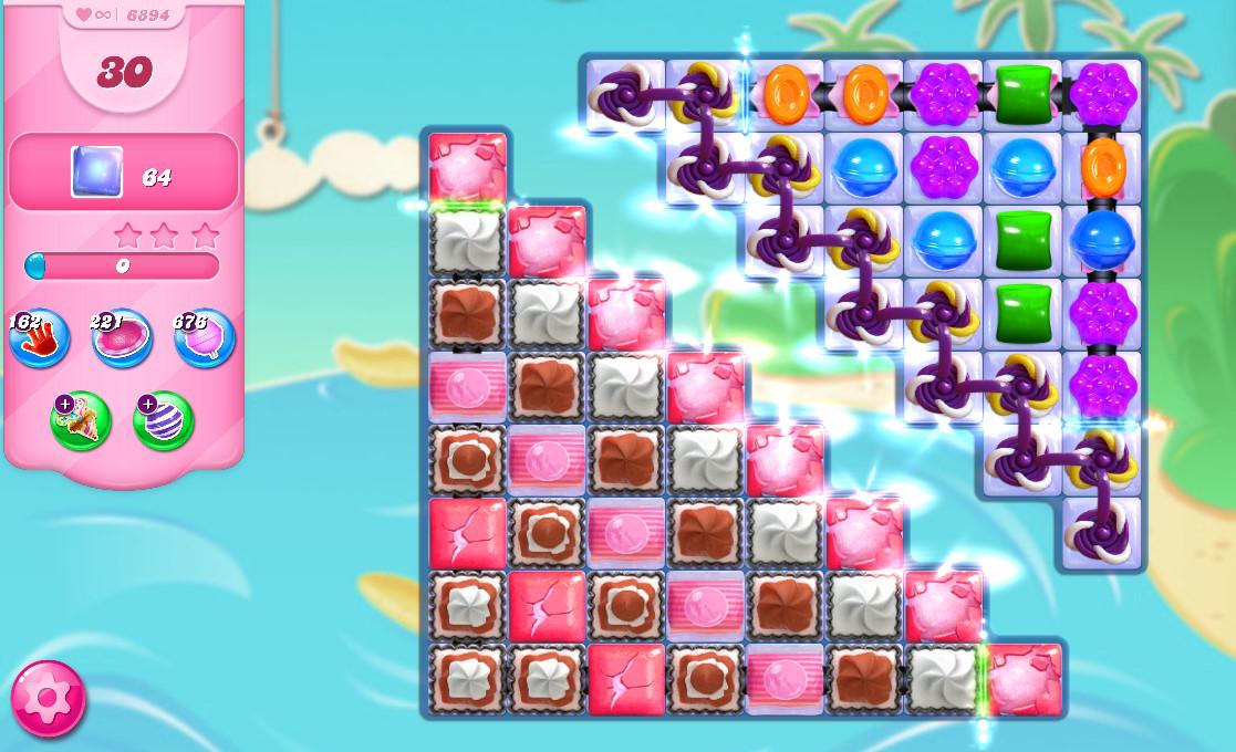 Candy Crush Saga level 6894