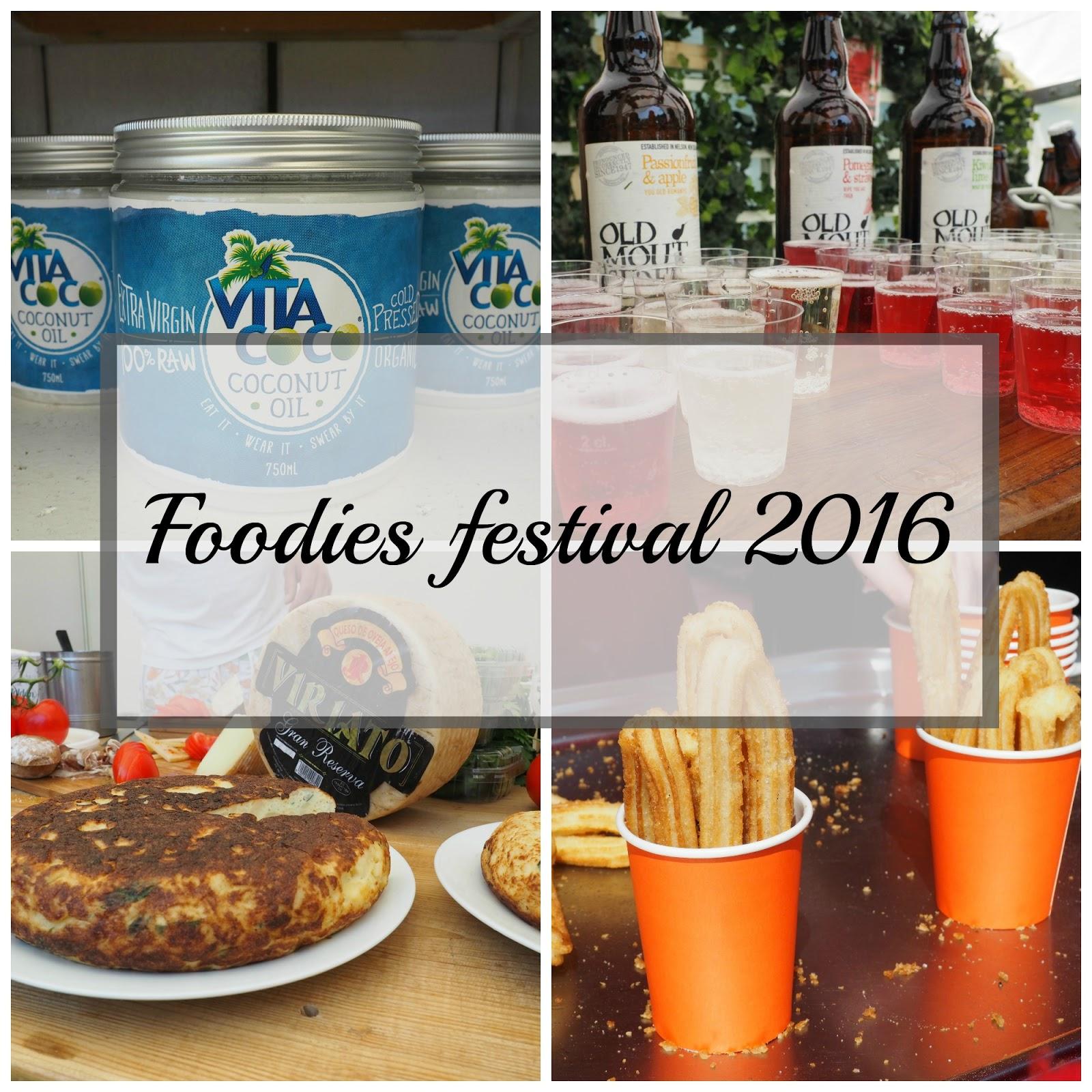Foodies festival Birmingham