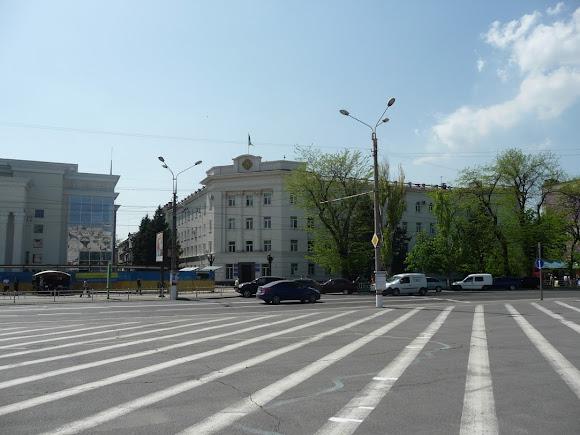 Херсон. Площа Свободи. Районна держадміністрація