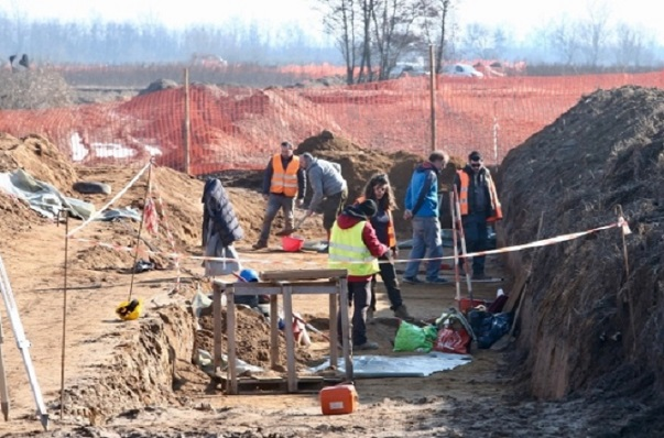27 Lombard graves unearthed in northern Italy