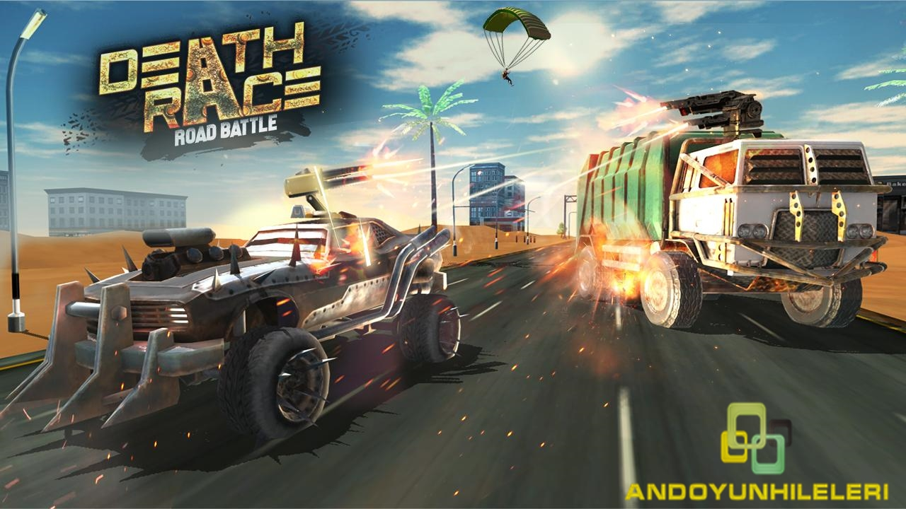 Death Race Road Battle v1.4 Hileli